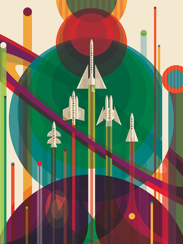 Visions of the Future, The Grand Tour Poster – Courtesy NASA/JPL-Caltech